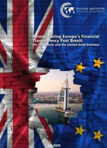 Press Release: Tactics Report; Post-Brexit Financial Transparencey