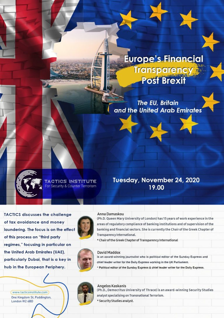 Event: Europe's Financial Transparency, Post-Brexit