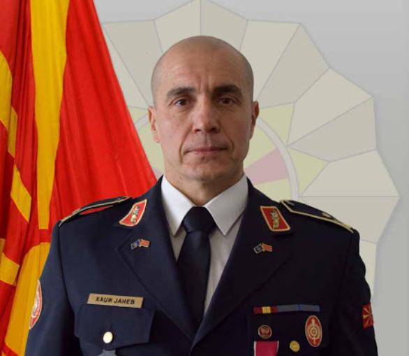 Brigadier General Metodi Hadji-Janev