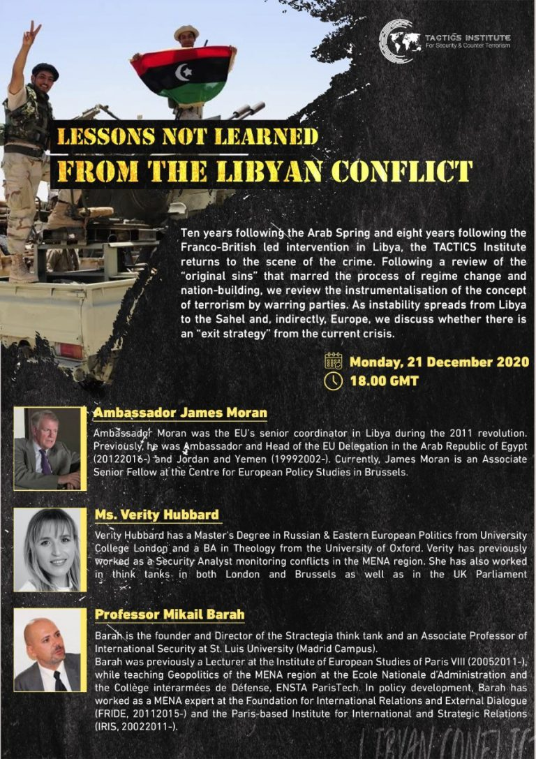 Event: Lessons not Learned from the Libyan Conflict