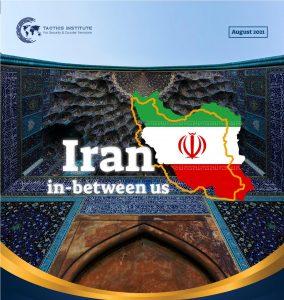 """Tactics releases major report on Iran crisis, """"Iran in-between us"""""""